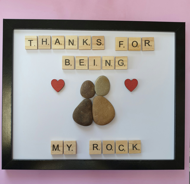 Thanks for being my rock frame