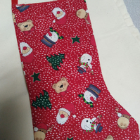 9 inch Christmas stocking