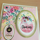 Dancing Queen Birthday card