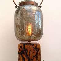 'The Golden Lantern' - Wooden Lamp