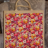 Jute Bag with Padded Handles