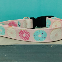 Doughnut pet collar, lead, adjustable collar, dog
