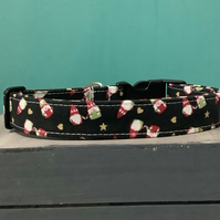 Gonks pet collar, lead, adjustable collar, dog