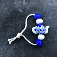 Dotty Teapot Bead