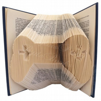 Gaming Remote Control Folded Book Art