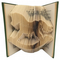 Rocking Horse Folded Book Art