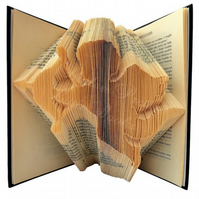 Cherub Angel Folded Book Art