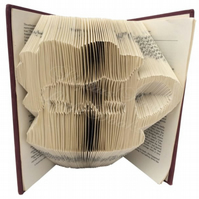 Dad In A Beer Tankard Family Folded Book Art