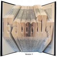 Family Folded Book Art
