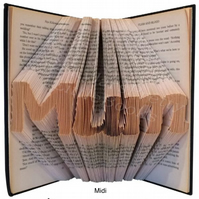 Mother Family Folded Book Art