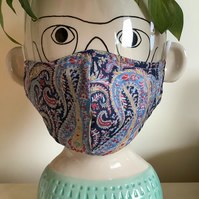Liberty Felix & Isabelle Women's Teenager's Lawn Cotton Face Mask
