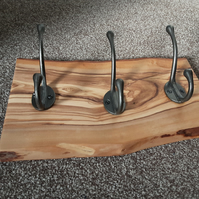 Olive Wood Coat Hanger