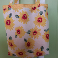 Shopping,Tote Sunflower Design