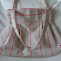 Handbag Pretty Hearts Design