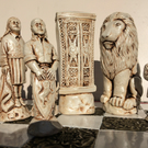 The Lion, The Witch and The Wardrobe Chess pieces (Board Not Included)