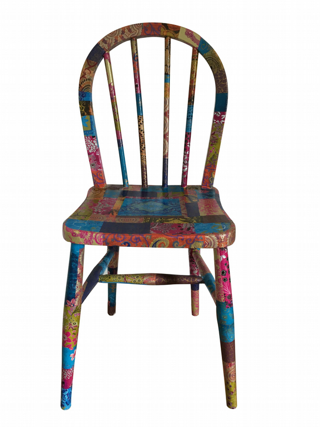 Child's spindle back chair