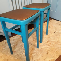 Vintage Quirky Upcycled Stool