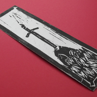 Sword in the stone bookmark