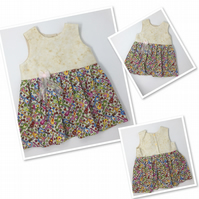Dolly Mixture Baby Dress - Age 9-12 months