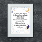Disney Aladdin Song Lyrics Print - A Whole New World - Beautiful Wall Art Quote