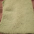 Knitted Genuine Luxury Hand Made Mint Green Super Soft Baby Blanket