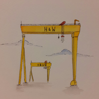 Harland and wolff mini - original