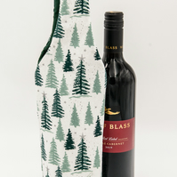 Christmas Luxury Wine Bottle Bag