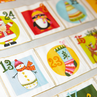 Advent Calendar, Fabric