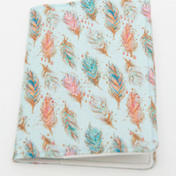 Pocket Notebook, Reusable Fabric Notebook Cover