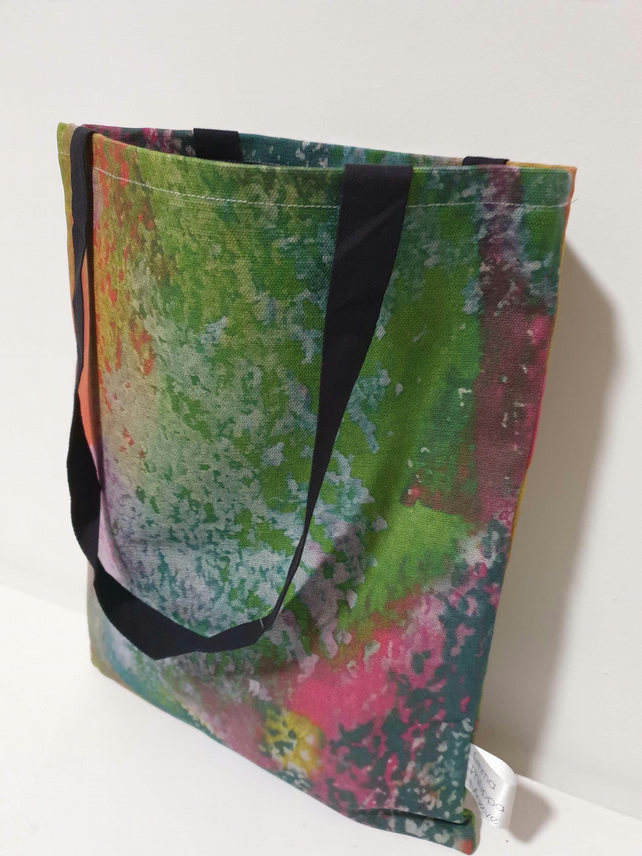 Lago Linen Tote in Forest Collection