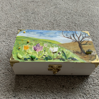 Trinket Box Spring Flowers