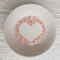Trinket dish - large heart