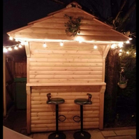 Bespoke Garden Bar- 6x4 FT- FREE UK DELIVERY!