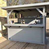 Stylish Handmade Garden Bar- 8x6 FT- FREE UK DELIVERY!