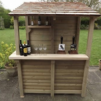 Modern Garden Bar- 6x4 FT- FREE UK DELIVERY!
