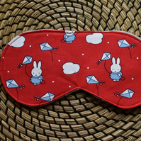 Quirky, Handmade, Cotton, Sleep, Eye, Miffy, Mask