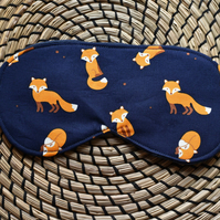 Quirky, Handmade, Cotton, Sleep, Eye, Fox, Mask