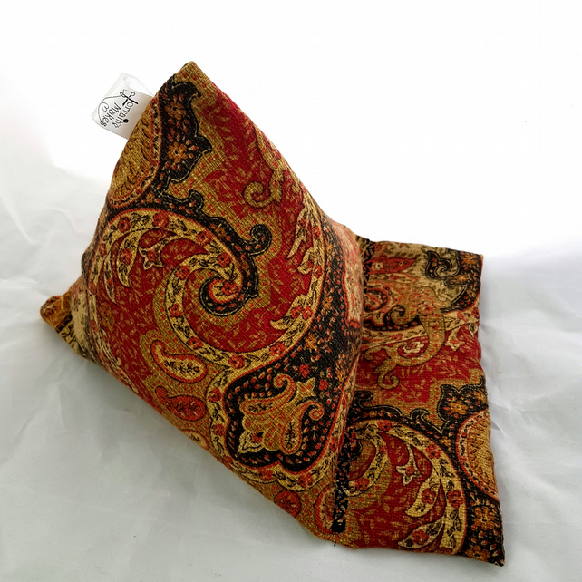 Tablet device stand, iPad stand, Kindle, paisley