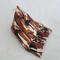 Combat, camouflage, army, Tablet device stand, iPad stand, Kindle, phone pillow