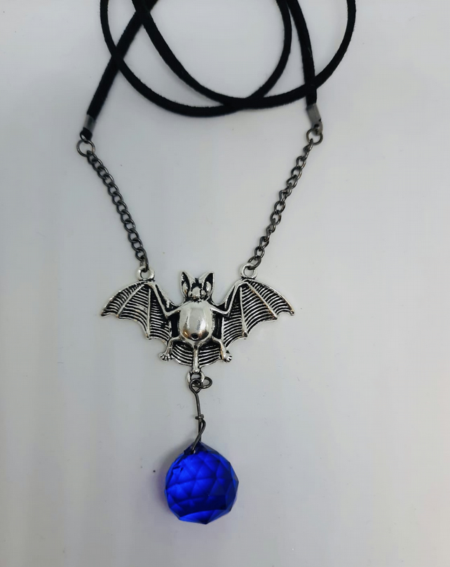 Bat Leather Necklace