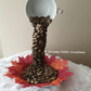 Floating coffee cup,Table centerpiece,Table decor