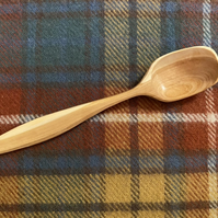 Cherry Wood Serving Spoon