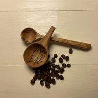 Spalted Beech Scoop Set- Ultimate Coffee set