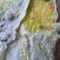 Wool and Silk Embroidered Scarf one of a kind