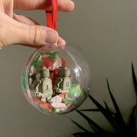 "Personalised ""Lego"" Bauble"