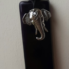 Elephant Glass sun catcher