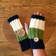 Luxury Woollen Fingerless Mitt's