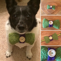 Doggy Bow Tie Pure Wool