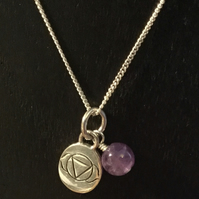 Third Eye Chakra Charm Necklace