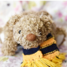 Big Bear! Sunday the hand sewn collectible teddy bear cub with scarf